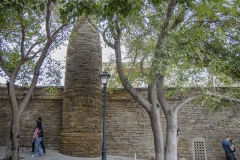 Wall to the Baku Old City