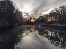 Sunrise Over 3 Sisters Springs