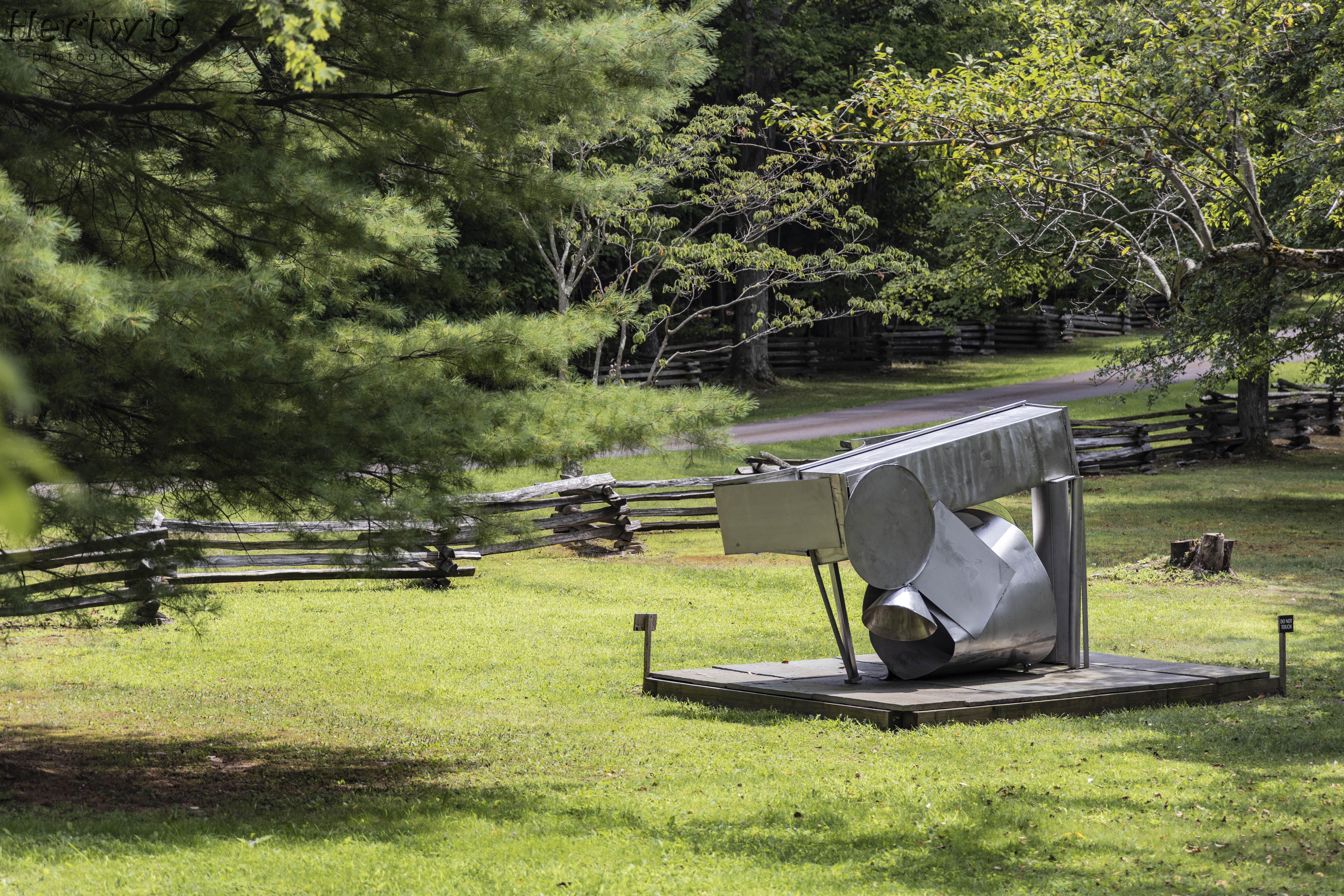 Sculpture at Kentuck Knob