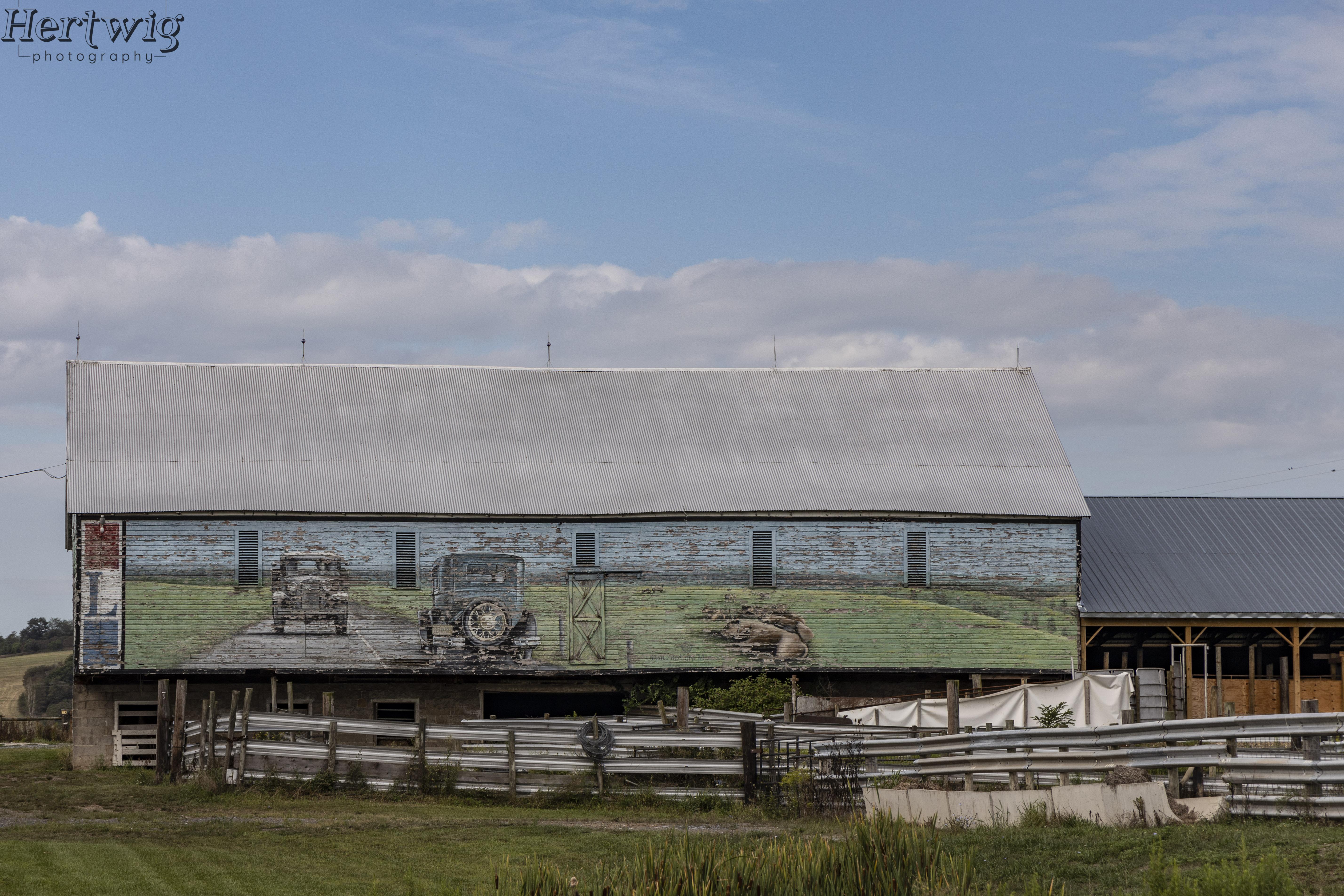 West PA Barn
